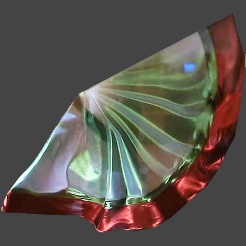 Fächer blau/Gold
