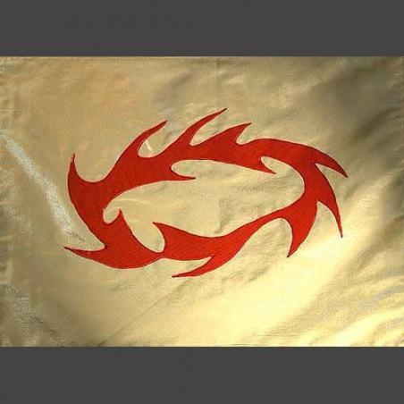 L+ Flagge JESUS