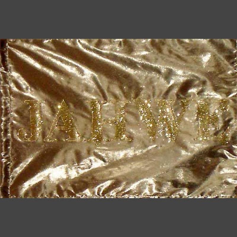 L+ Flagge Krone & Jesus