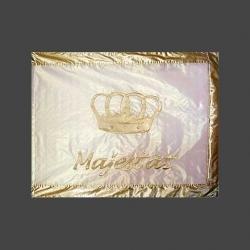 Fahne Lobpreis und Ehre Herrschaft und Stärke / Krone