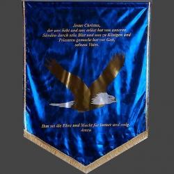 Loewe Banner, Flaggen und Fahnen zur Ehre Gottes