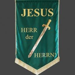 Loewe Banner, Flaggen, Fahnen zur Ehre Gottes